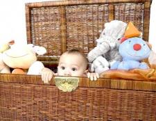 Вчимо дитину прибирати іграшки