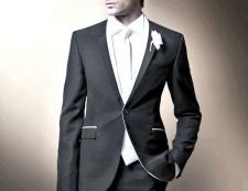 Вибір одягу для нареченого на весілля