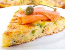 Запіканка з лосося з овочами