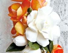 """Затиск для штор """"квітковий"""" з полімерної глини"""